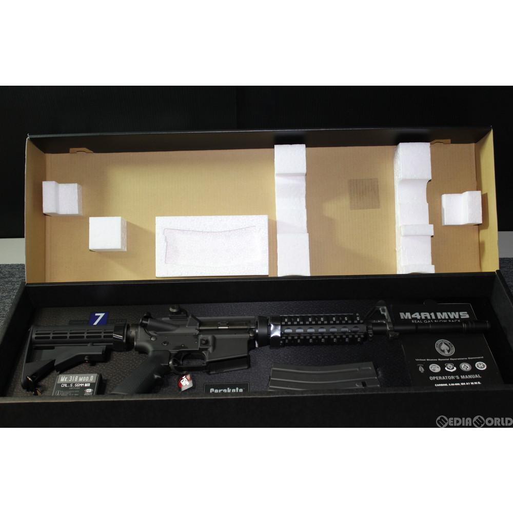 【中古】[MIL]東京マルイ ガスブローバック M4A1 MWS (18歳以上専用)(20151113)