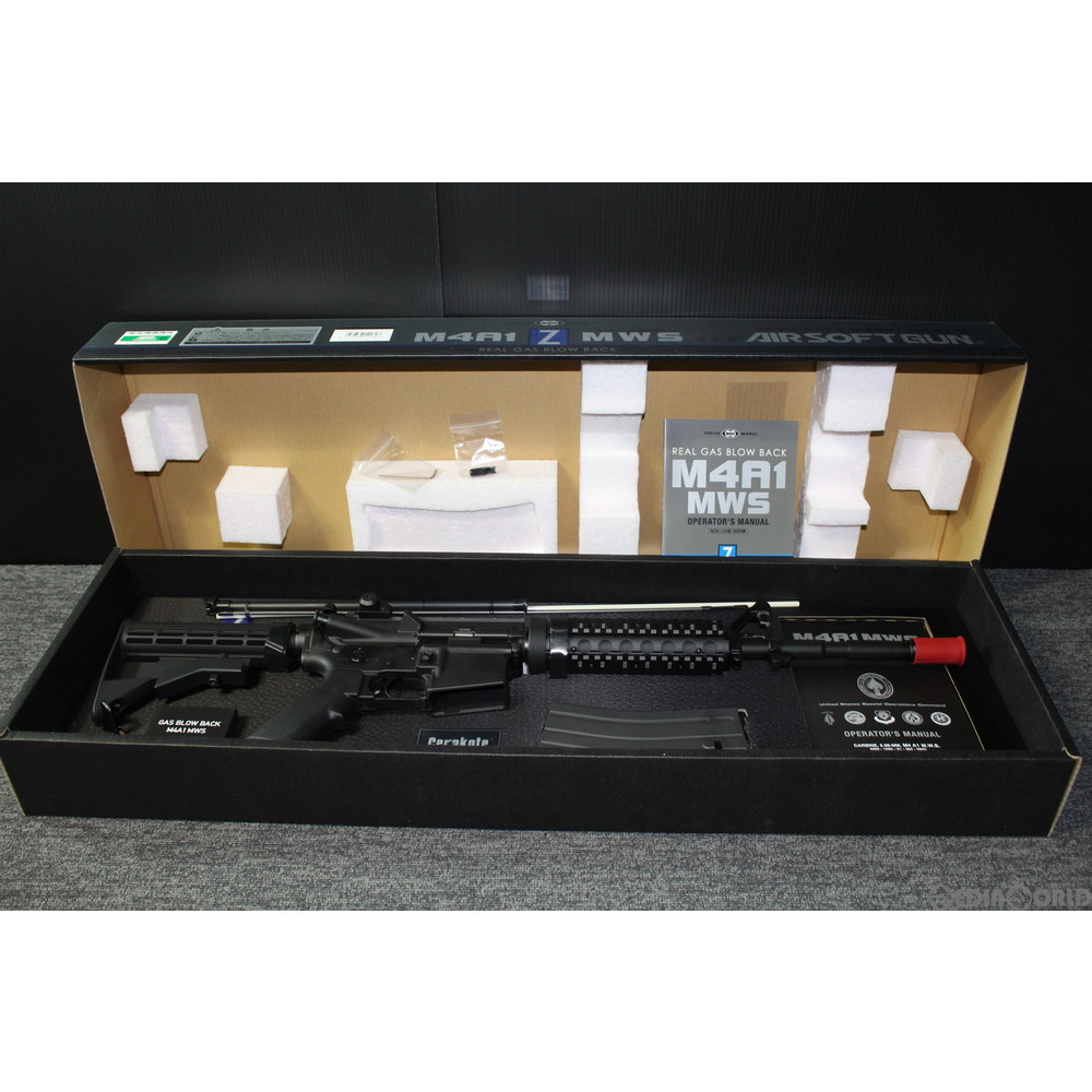 【中古】[MIL]東京マルイ ガスブローバック M4A1 MWS (18歳以上専用)(20151130)