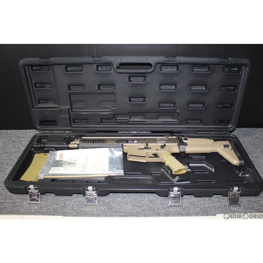 【中古】[MIL]VFC 電動アサルトライフル FN SCAR-L DX 10.5/14.5 FDE(フラットダークアース)(VF1-MK16-TN99) (18歳以上専用)(20150223)