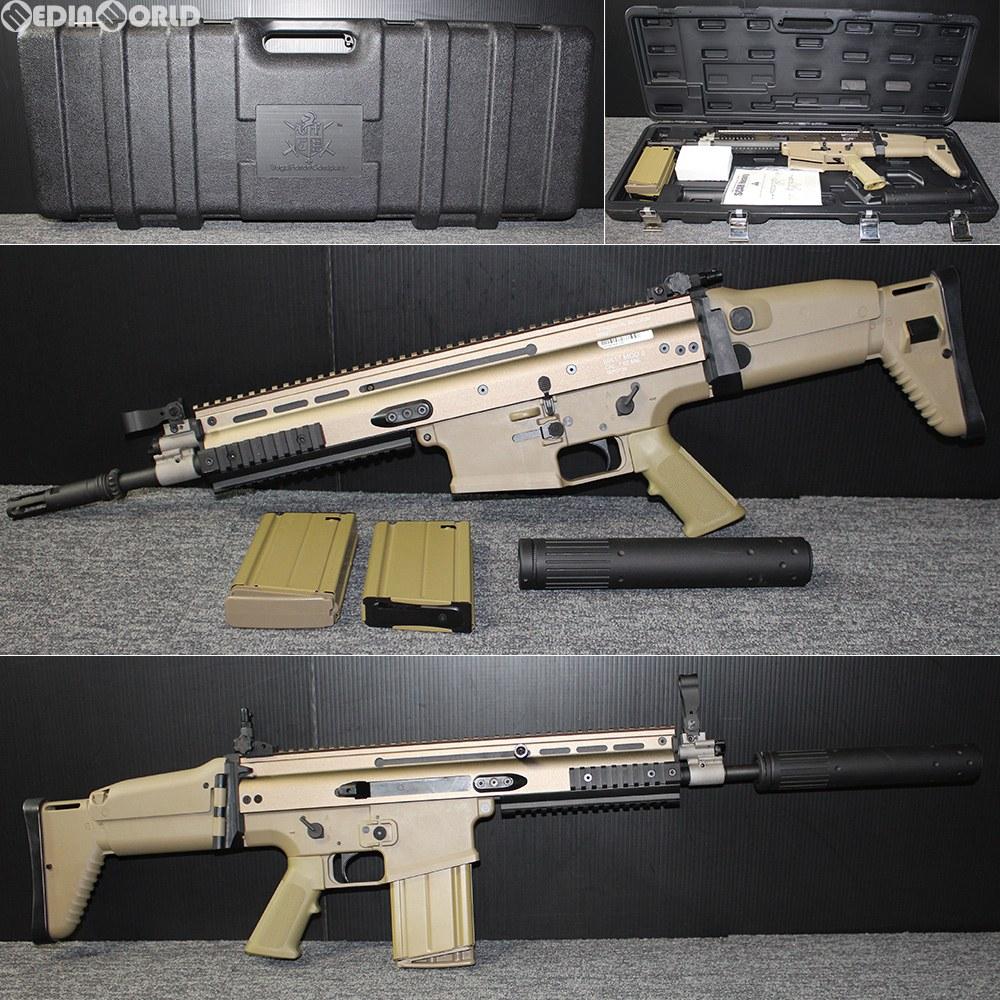 【中古】[MIL]VFC 電動アサルトライフル FN SCAR-H DX FDE(フラットダークアース)(VF1-MK17-TN81) (18歳以上専用)(20150223)