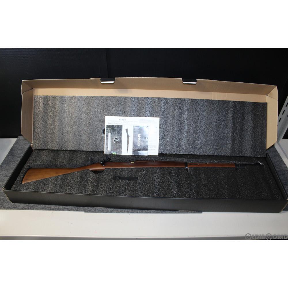 【中古】[MIL]S&T エアーライフル M1903 リアルウッドタイプ(ST-SPG-09) (18歳以上専用)(20150223)
