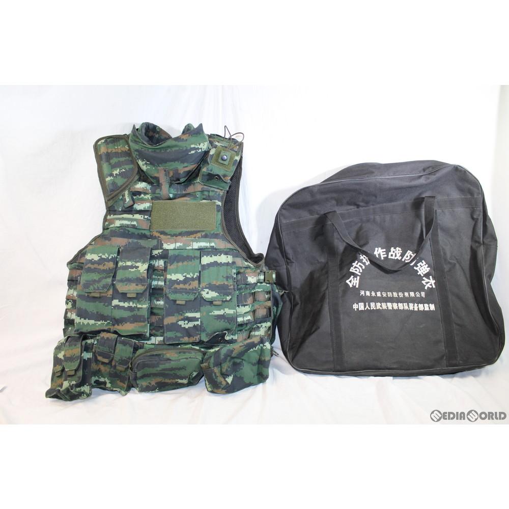 【中古】[MIL]中華人民武装警察特戦実物 防弾アーマーベスト 特戦13式迷彩(20150223)