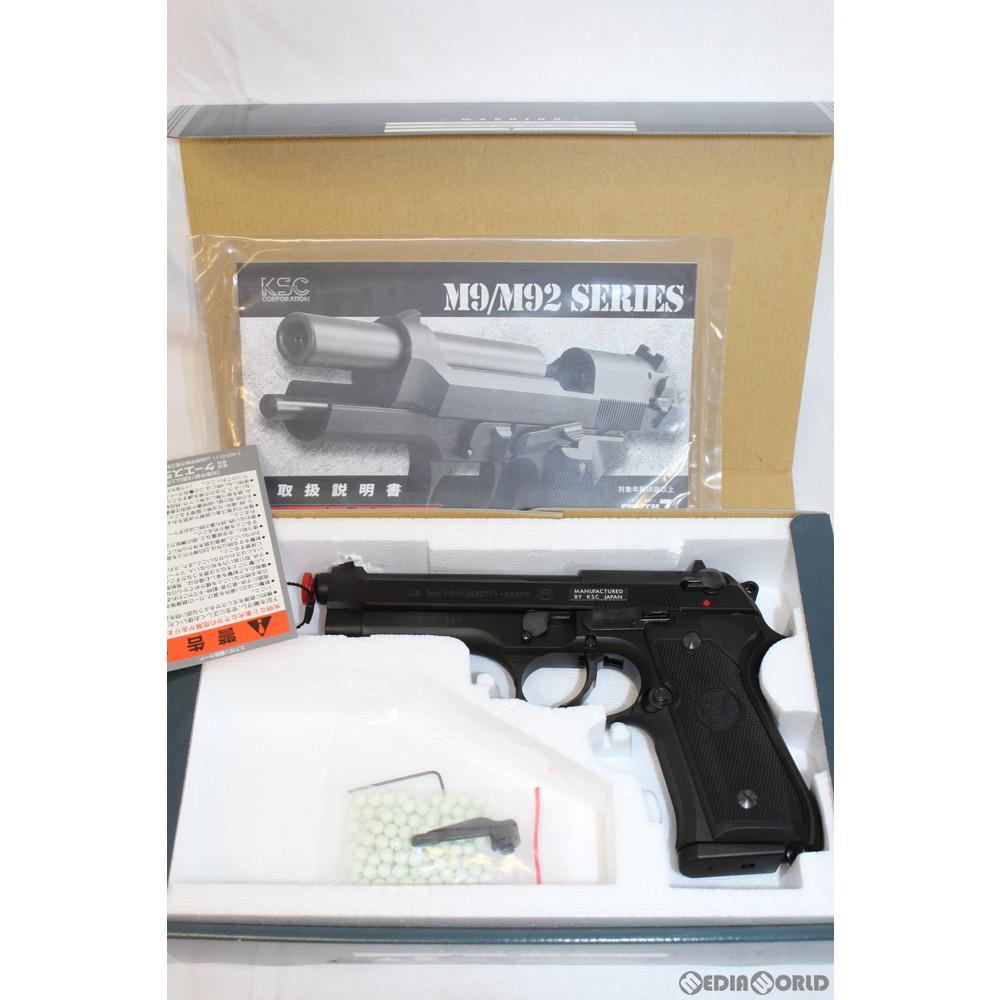 【中古】[MIL]KSC ガスブローバック U.S.9mm M9(07)ブラックHW (18歳以上専用)(20150101)
