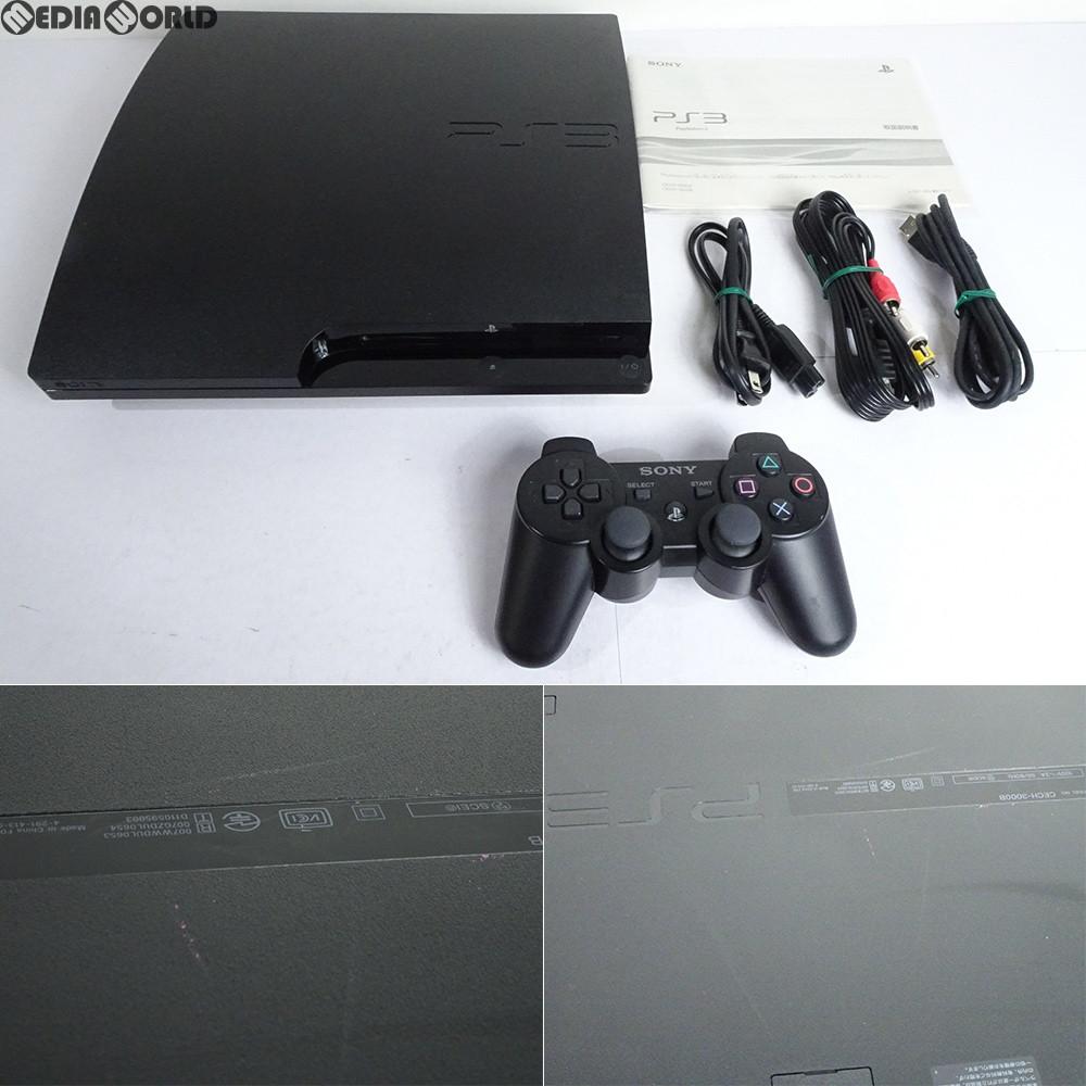 【中古】【訳あり】[本体][PS3]プレイステーション3 PlayStation3 HDD320GB チャコール・ブラック(CECH-3000B)(20110625)