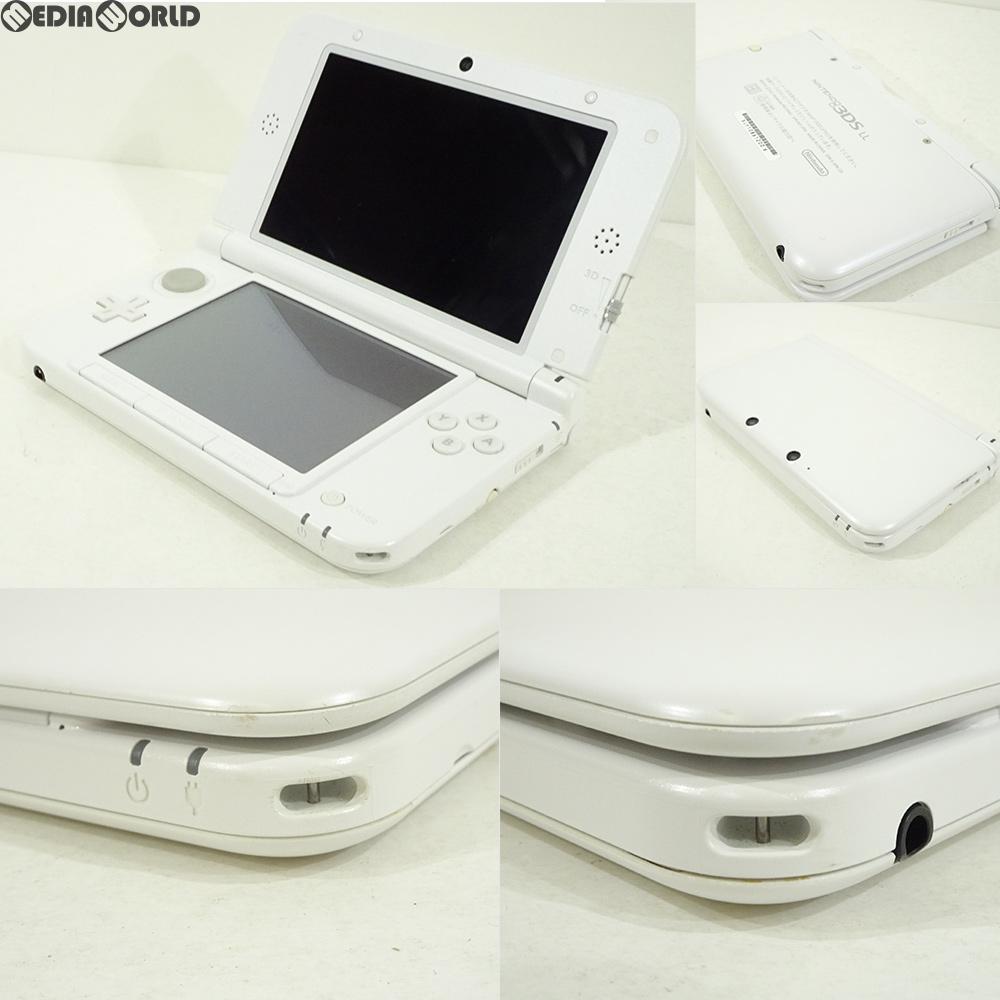 【中古】【訳あり】[本体][3DS]ニンテンドー3DS LL ホワイト(SPR-S-WAAA)(20120728)