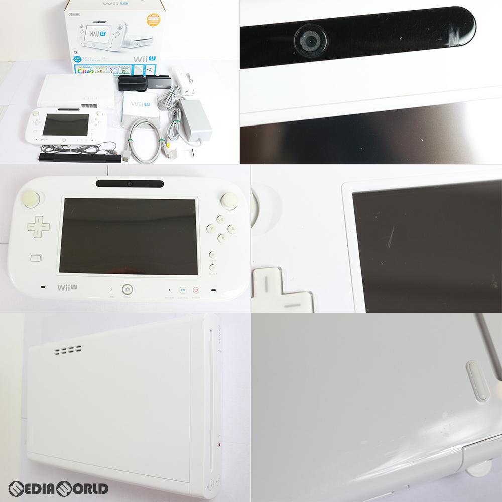 【中古】【訳あり】[本体][WiiU]Wii U すぐに遊べるスポーツプレミアムセット(shiro/シロ/白)(WUP-S-WAFU)(20140327)