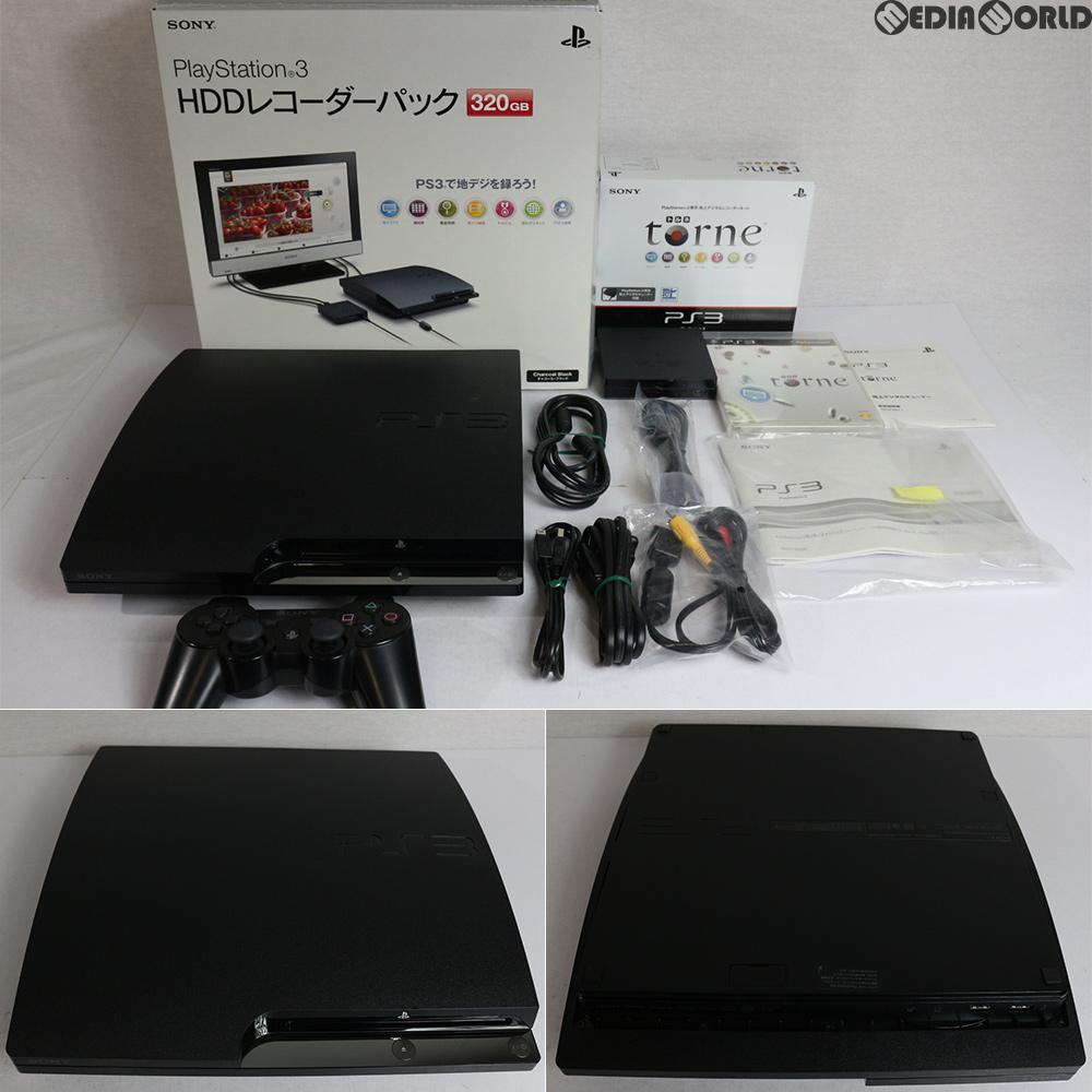 【中古】【訳あり】[本体][PS3]PlayStation3 HDDレコーダーパック 320GB チャコール・ブラック(CEJH-10013)(20101118)