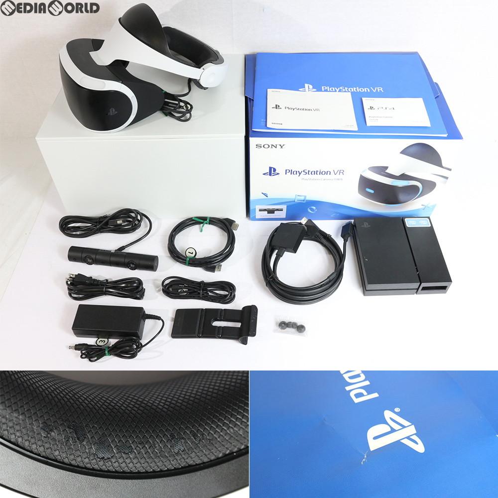 【中古】[ACC]【訳あり】[PS4]PlayStation VR PlayStation Camera同梱版(プレイステーションVR/PSVR カメラ同梱版)SIE(CUHJ-16001)(20161013)
