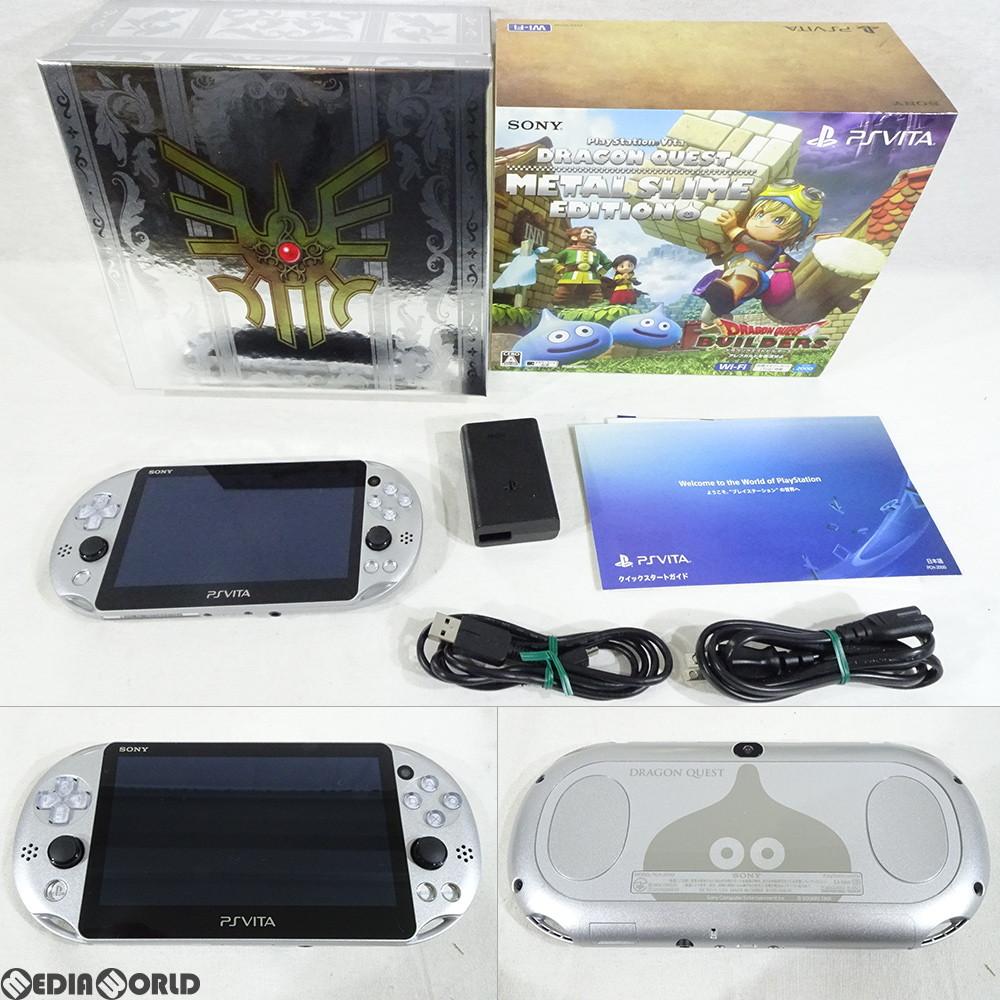 【中古】【訳あり】[本体][PSVita]PlayStation Vita ドラゴンクエスト メタルスライム エディション(PCHJ-10028)(20160128)