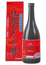 泡盛麹発酵クエン酸飲料 豆腐よう発酵紅麹仕込み 紅麹もろみ酢720m×6本セット