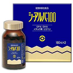 【お得な4個セット】【日水製薬】シーアルパ 100 180錠×2本入りしかも毎日ポイント2倍!