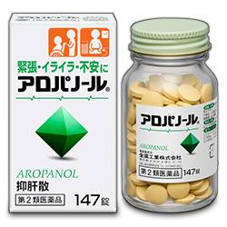 【第2類医薬品】【毎日ポイント2倍】【全薬工業】アロパノール 147錠×4個セット ※お取り寄せになる場合もございます