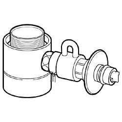 【パナソニック】食器洗い乾燥機用 分岐水栓 CB-STKA6 ☆家電 ※お取り寄せ商品【10P03Dec16】
