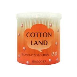 【平和メディク】抗菌コットンランド綿棒 200本入 ※お取り寄せ商品