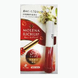 買取 毎日ポイント2倍 ゼリア新薬 35%OFF モレナ ※お取り寄せ商品 リッチリップ 1.9g