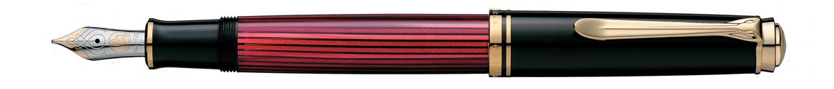 【毎日ポイント2倍】【ペリカン】スーベレーン M600 万年筆 ボルドー M(中字) ※お取り寄せ商品