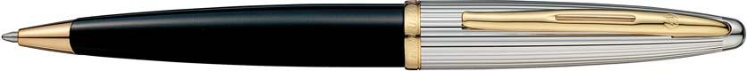 【毎日ポイント2倍】【ウォーターマン】カレン デラックス ブラック&シルバー GT ボールペン ※お取り寄せ商品