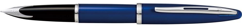 【毎日ポイント2倍】【ウォーターマン】カレン ブルー ST 万年筆 F(細字) ※お取り寄せ商品