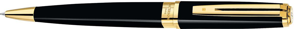 【毎日ポイント2倍】【ウォーターマン】エクセプション・スリム ブラックラッカー GT ボールペン ※お取り寄せ商品