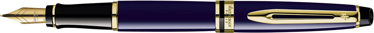 【毎日ポイント2倍】【ウォーターマン】エキスパート エッセンシャル プルシアンブルー GT 万年筆 M(中字) ※お取り寄せ商品