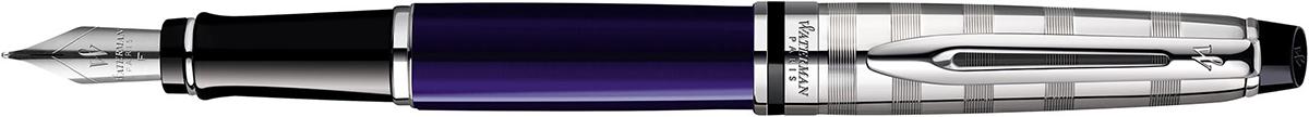 【毎日ポイント2倍】【ウォーターマン】エキスパート デラックス ダークブルー CT 万年筆 F(細字) ※お取り寄せ商品