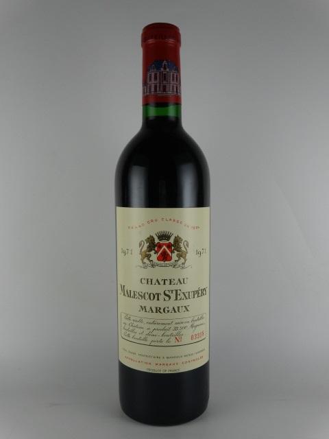 [1971] シャトー・マレスコ・サンテグジュペリ Ch. Malescot St Exupery