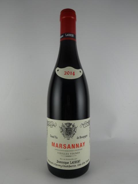 魅力的な古樹の味わい 2014 マルサネ いよいよ人気ブランド 人気ブランド ヴィエイユ ヴィーニュ -ドミニク V.V -Dominique Marsannay ローラン- Laurent-