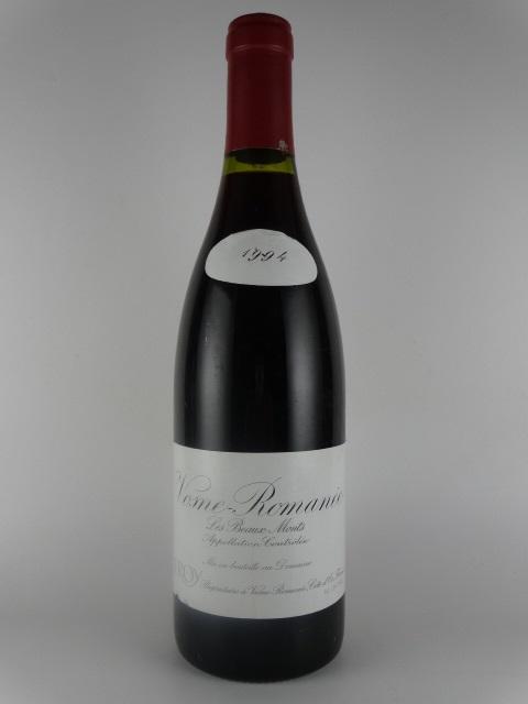 [1994] ヴォーヌ・ロマネ プルミエ・クリュ レ・ボーモン -ドメーヌ・ルロワ- Vosne-Romanee 1er Cru Les Beaux Monts -Domaine Leroy-