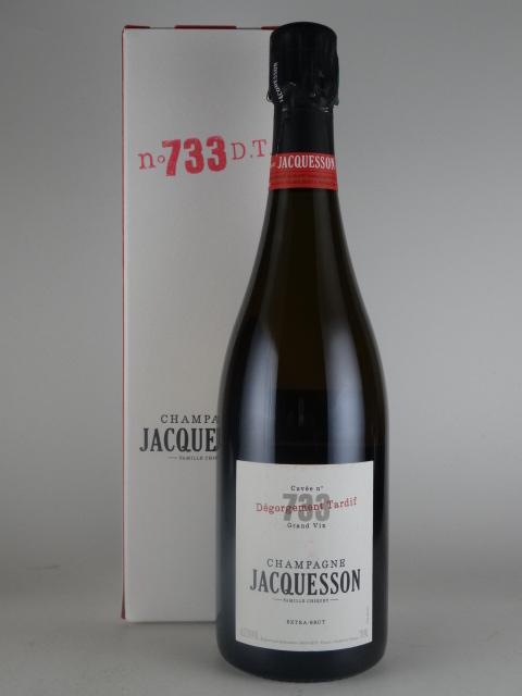 【箱入り】[NV] ジャクソン キュヴェ733 デゴルジュマン・タルディフ エクストラ・ブリュット JACQUESSON Cuvee 733 Degorgement Tardif Extra Brut