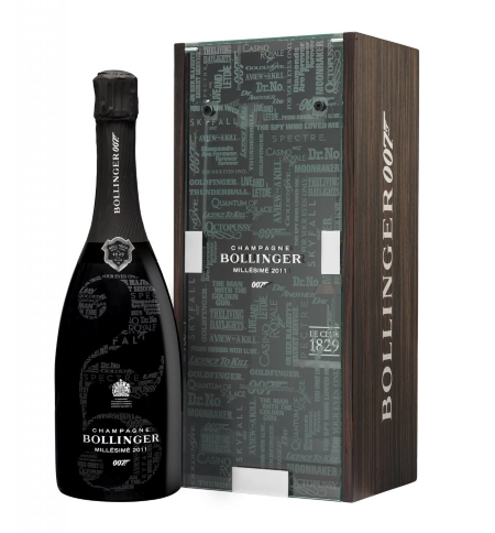 専用箱入り 2011 ボランジェ 007 リミテッド エディション Edition 日本正規代理店品 ミレジメ MIllesime BOLLINGER Limited 有名な