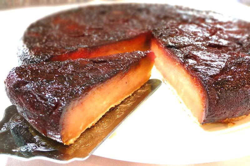 【長野ご当地スイーツ】タタンおばさんのひっくり返したアップルパイ【タルトタタン】18センチ 信州りんご