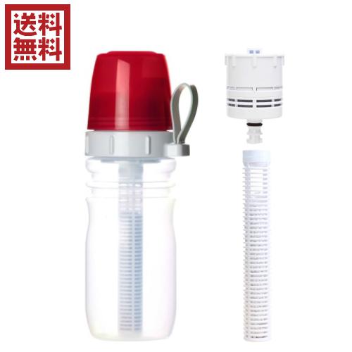 最大32倍!浄水器 カートリッジ コンパクトリセラマグボトル(携帯用ボトル型浄水器)交換カートリッジセット
