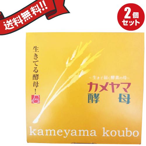 カメヤマ酵母 30包 2箱セット