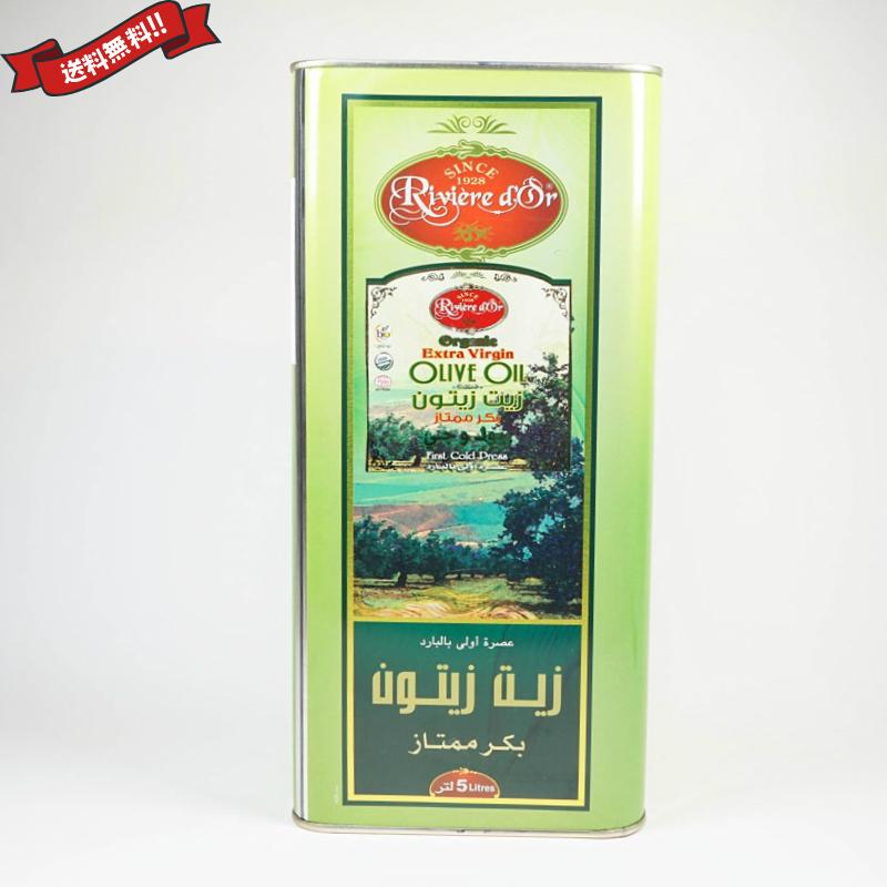 チュニジア産 有機エキストラバージンオリーブオイル 業務用 5L Huilerie Loued