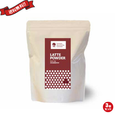 紅茶ラテパウダー 800g いいこカフェ EECO CAFE 3個セット