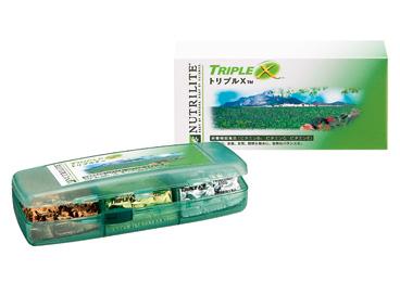 理想的な栄養補給をサポート アムウェイトリプルX(ケース付き)