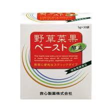 5g×30袋×12【送料無料】野草菜果 ペースト 酵素  5g×30袋×12 やそうさいか