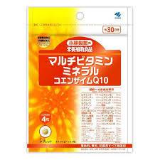 送料無料 120粒×10 小林製薬 マルチビタミンミネラル+COQ10 120粒×10