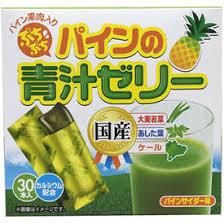 【送料無料】30本×10箱 ぷちぷちパインの青汁ゼリー+ 30本×10箱