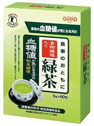 【送料無料】60包×7 食事のおともに食物繊維入り緑茶 60包×7