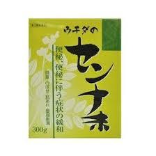 【第(2)類医薬品】10箱セット 送料無料 ウチダ の センナ末 300g×10 せんな