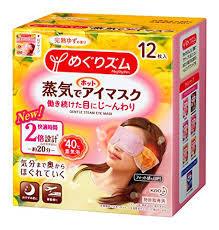【送料無料】 蒸気でホットアイマスク 花王めぐりズム カモミール 12枚×10