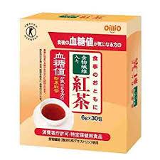 【特定保健用食品】6g×30包×12 料無料 食事のおともに食物繊維 紅茶  6g×30包×12