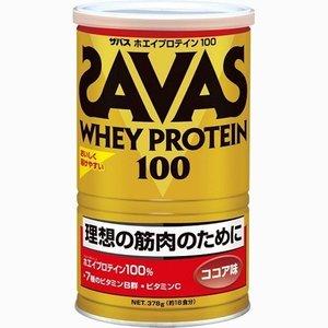 【送料無料】 378g×10 ザバス ホエイプロテイン 100 ココア 18食分 378g×10