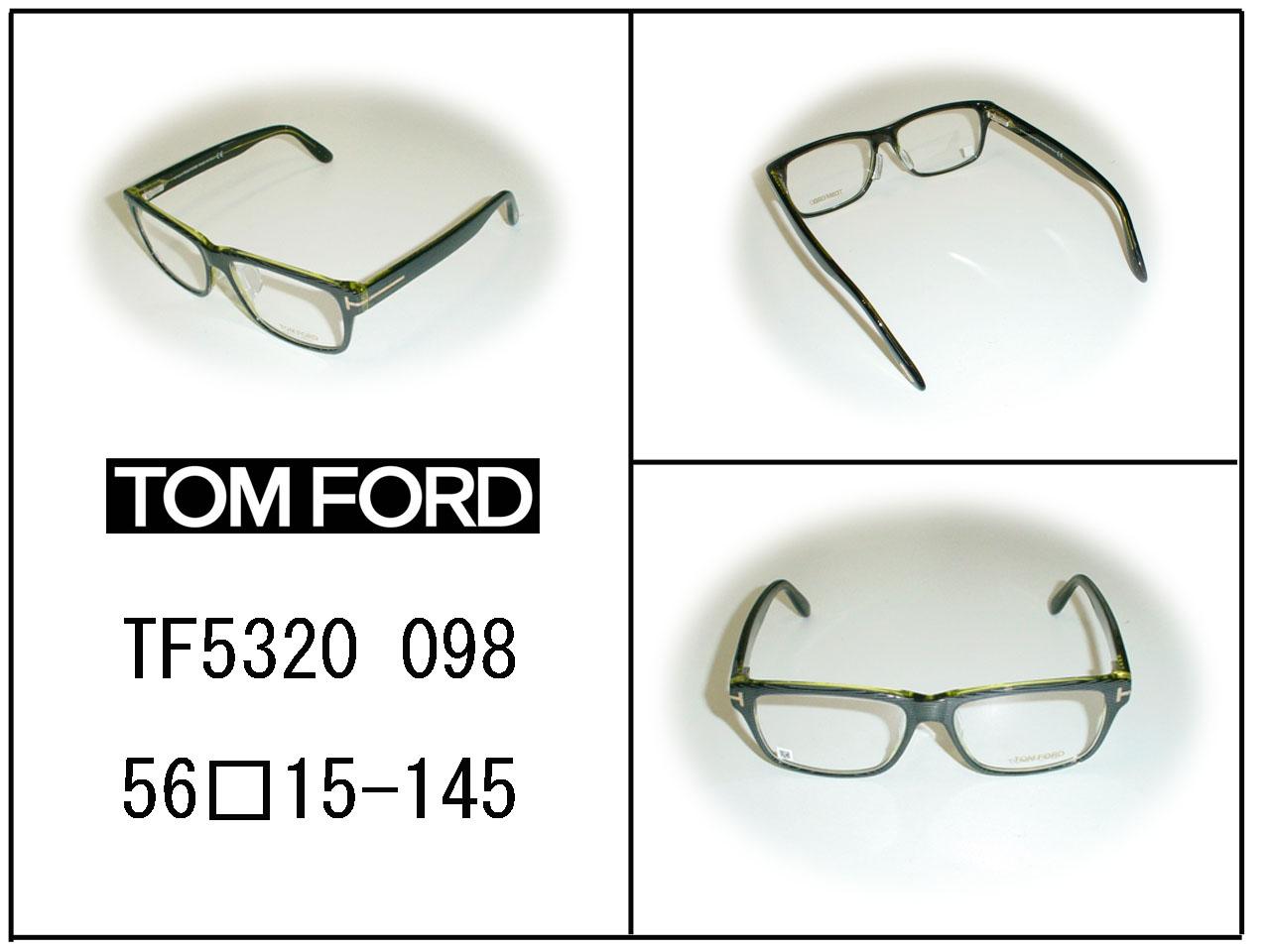 【超薄型非球面レンズ付き!】☆TOM FORD(トムフォード)☆ TF5320 カラー098