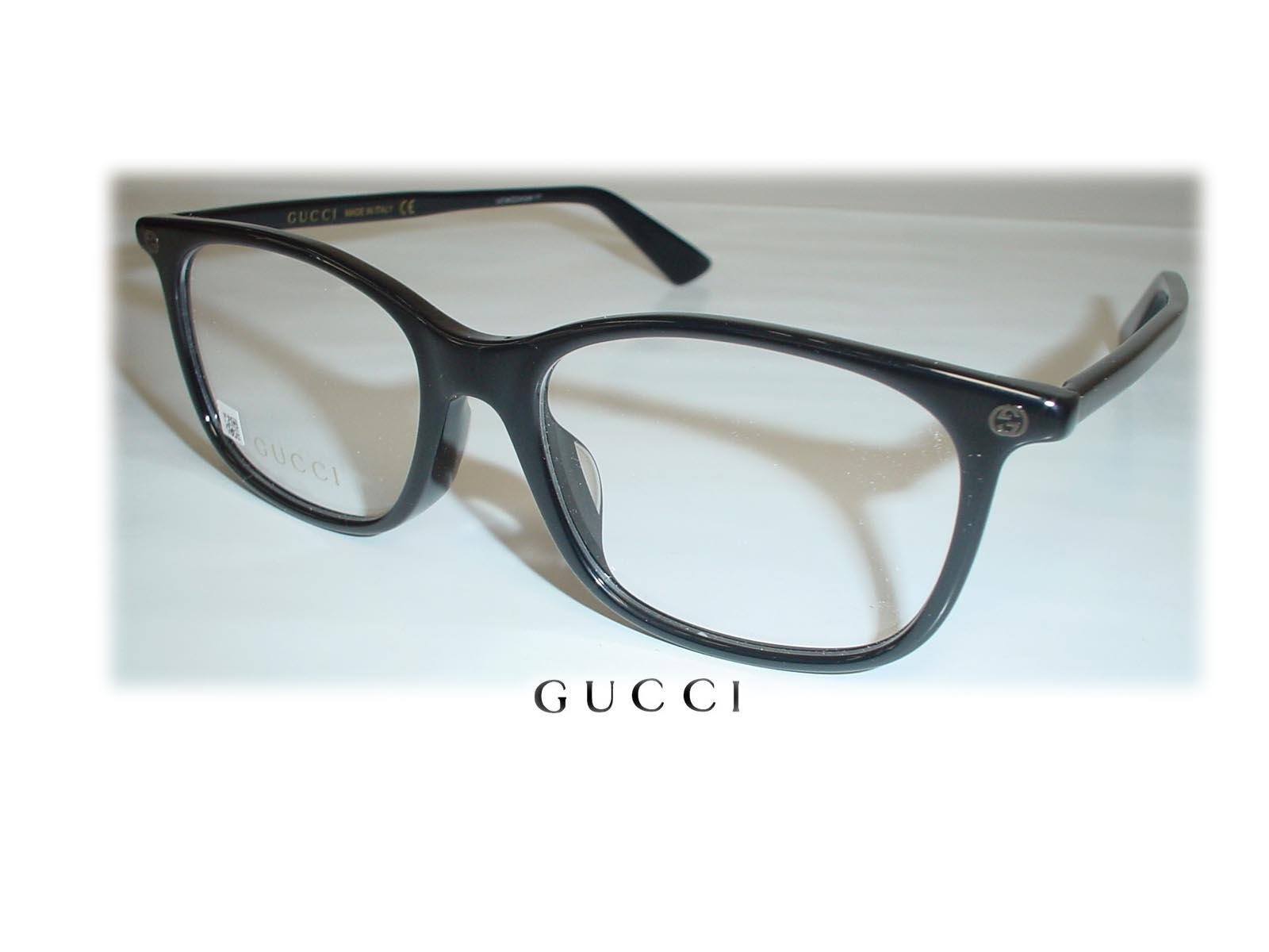 ★★GUCCI★★グッチ メガネ GG0157OA 52□17-145 ブラック超薄型非球面レンズ付