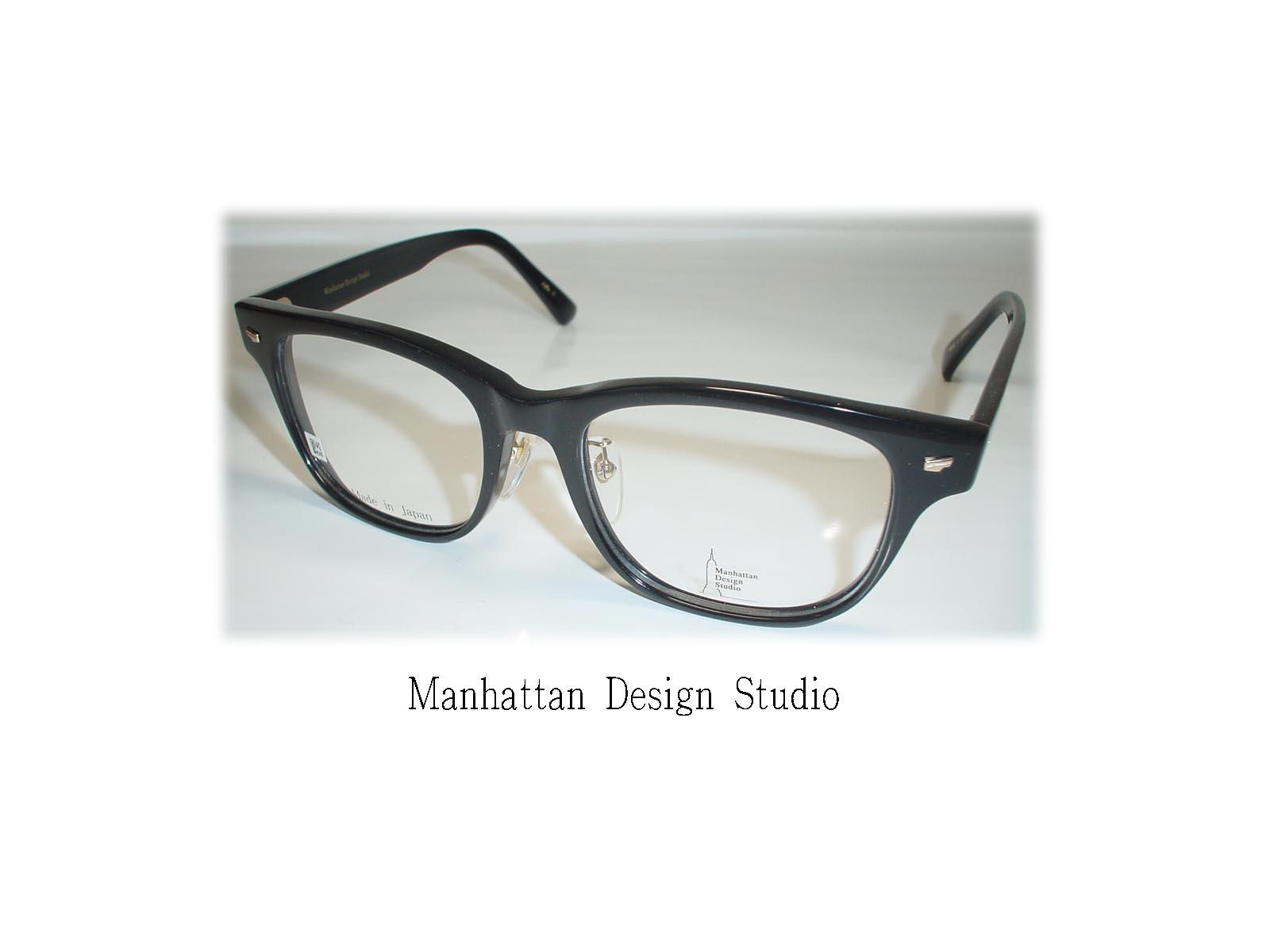 【超薄型非球面レンズ付き!】☆Manhattan Design Studio(マンハッタンデザインスタジオ)☆ MDS-114 カラー1 BK
