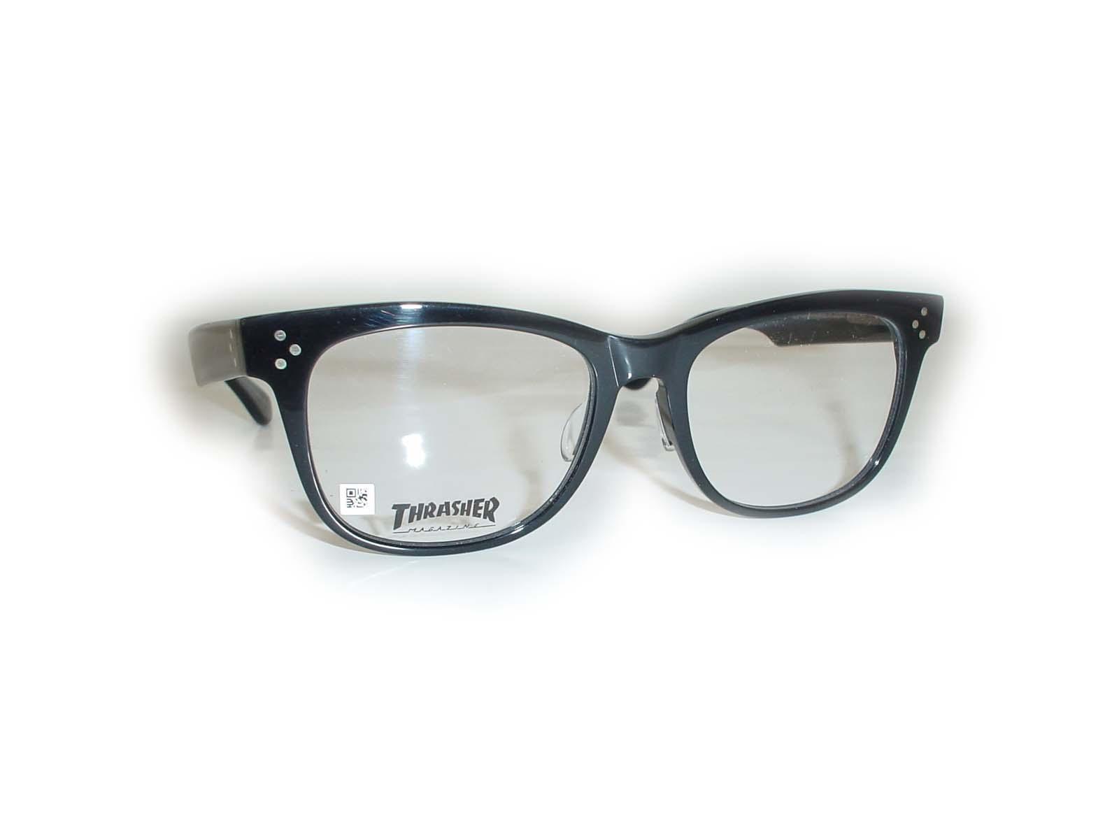 ★THRASHER(スラッシャー)★80353□18-143COL.ブラック超薄型非球面レンズ付