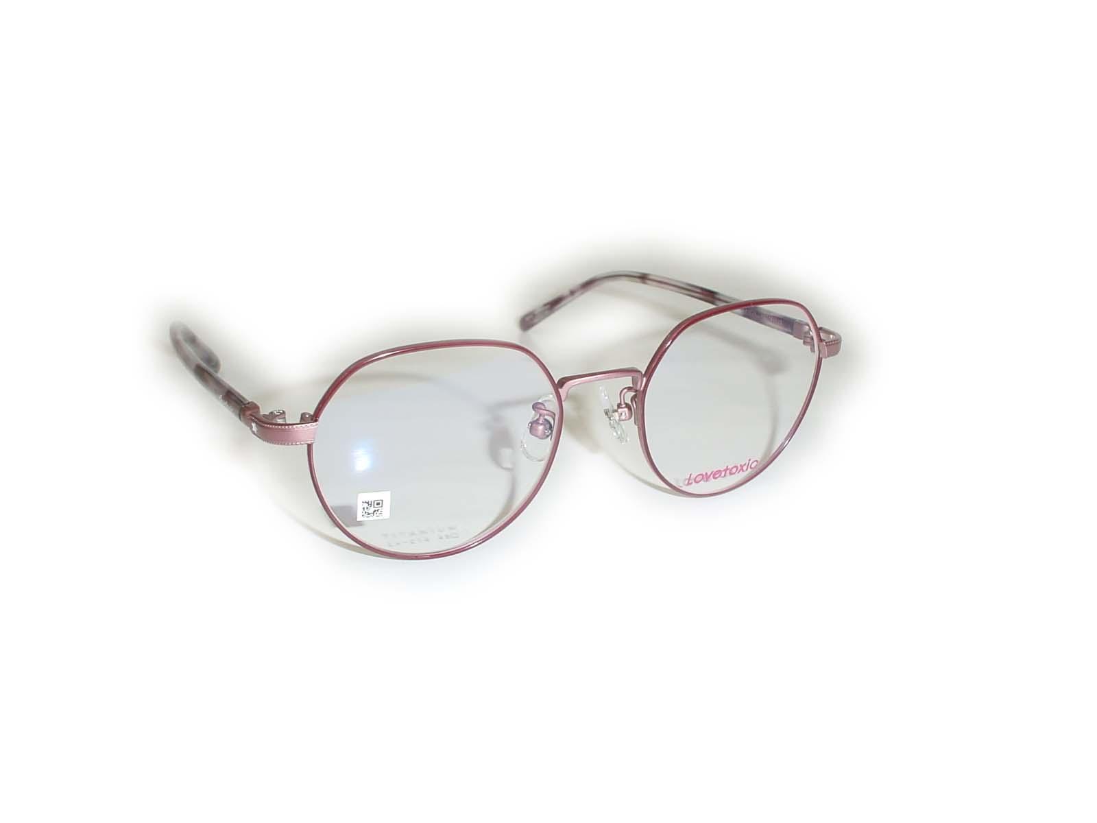 ★Lovetoxic(ラブトキシック)★Lx-21448□18-135COL.2 ピンク超薄型非球面レンズ付