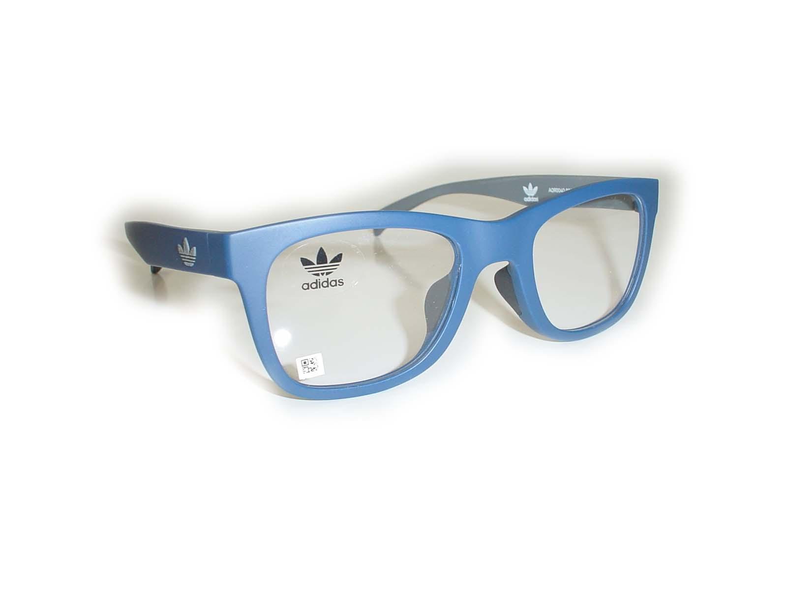 ★adidas(アディダス)★AOR004050□22-140COL.021021ネイビーグレー超薄型非球面レンズ付